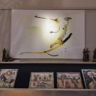 Bato | Cocodrillo II, tecnica mista su tela cm 100x150