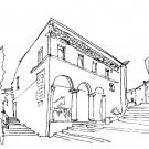 Museo Tonino Guerra-schizzo-monte-di-pieta