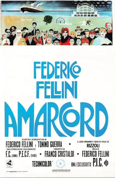 Il cinema di Tonino Guerra: locandina di Amarcord