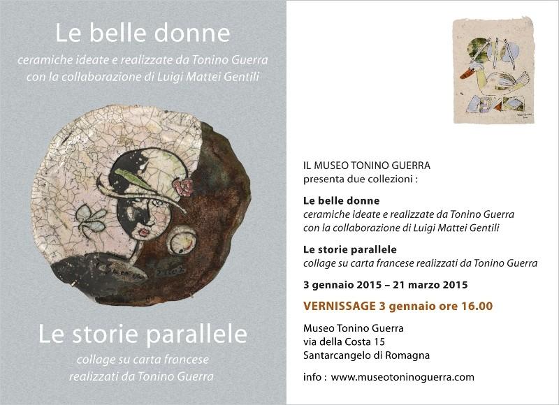 Invito Collezioni Museo Tonino Guerra